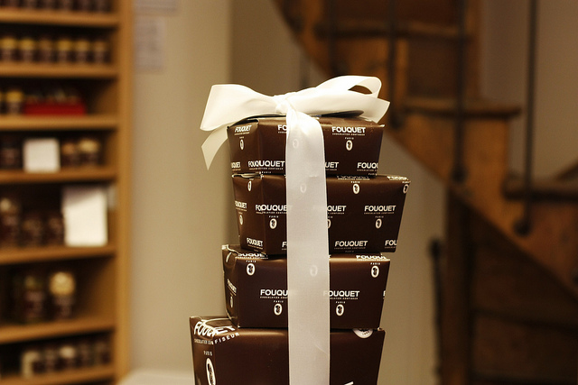 Fouquet chocolate/candy boxes