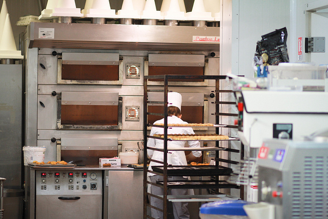 Fauchon pastry kitchens