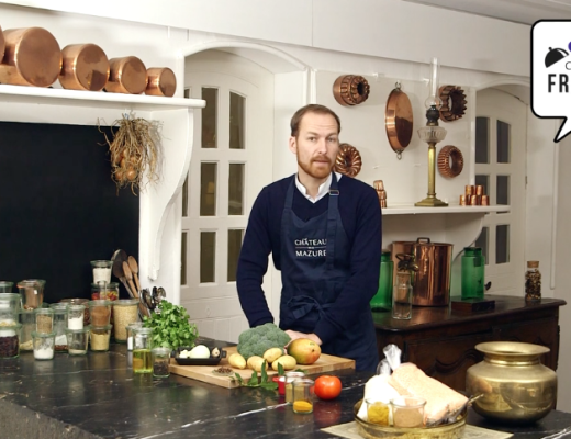 French cooking and language lessons