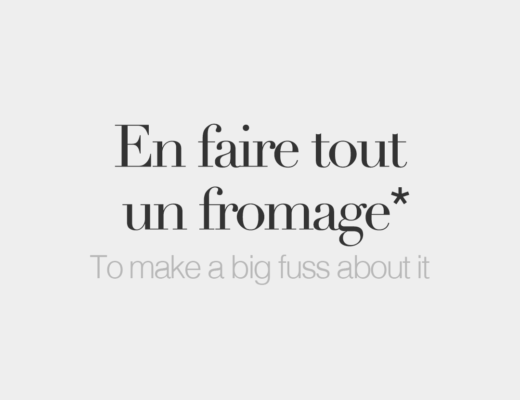 French Words Fromage