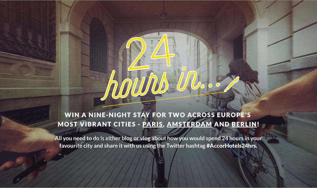 24 Hours in Paris Accor Hotels