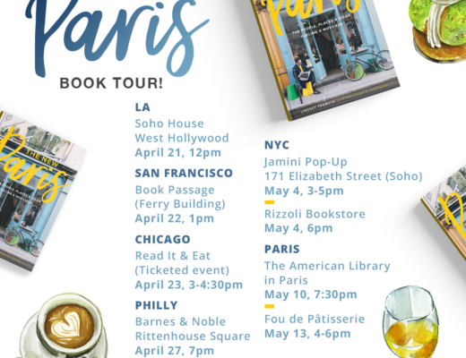 The New Paris Book tour