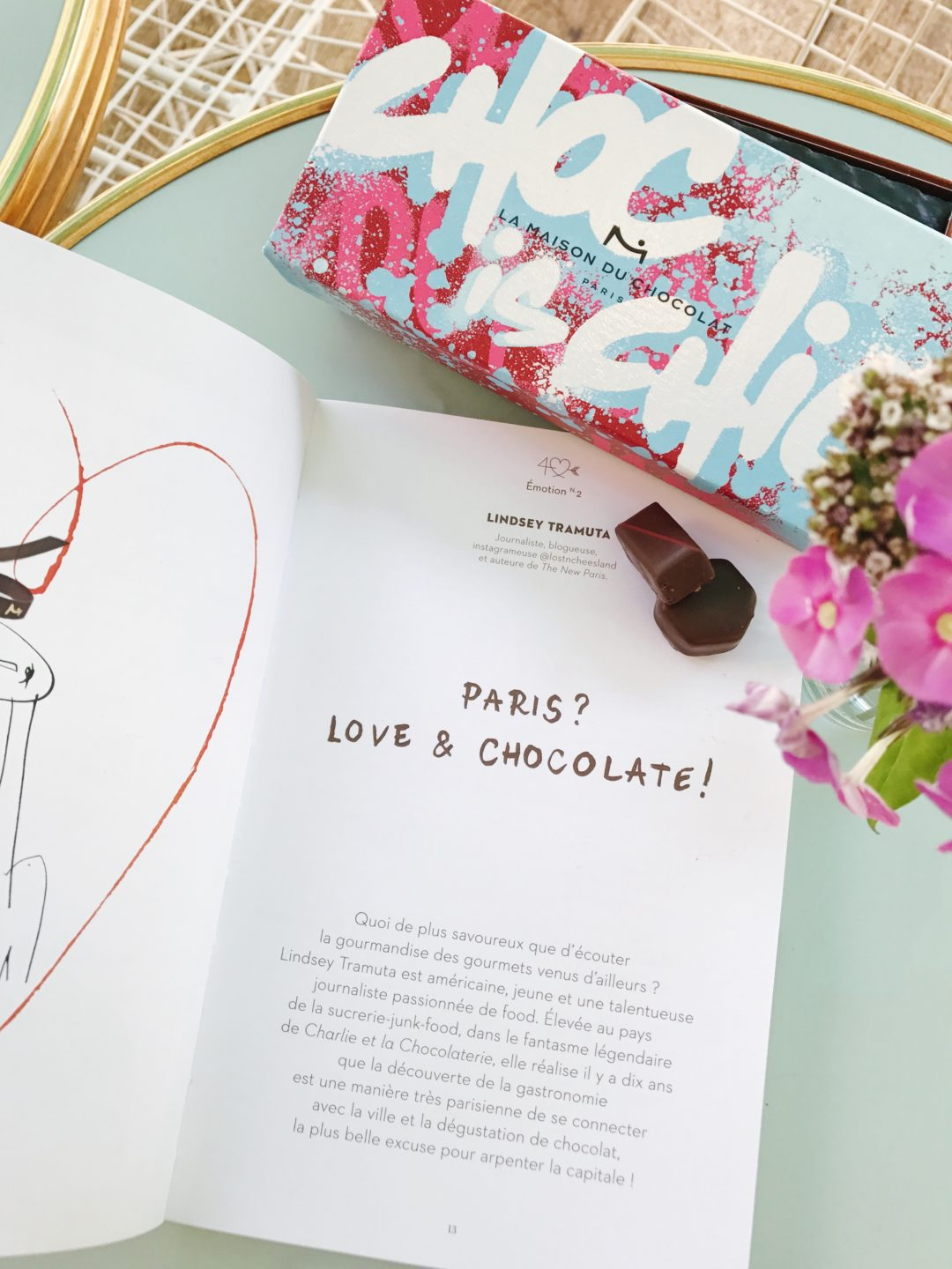 La Maison du Chocolat 40th anniversary book