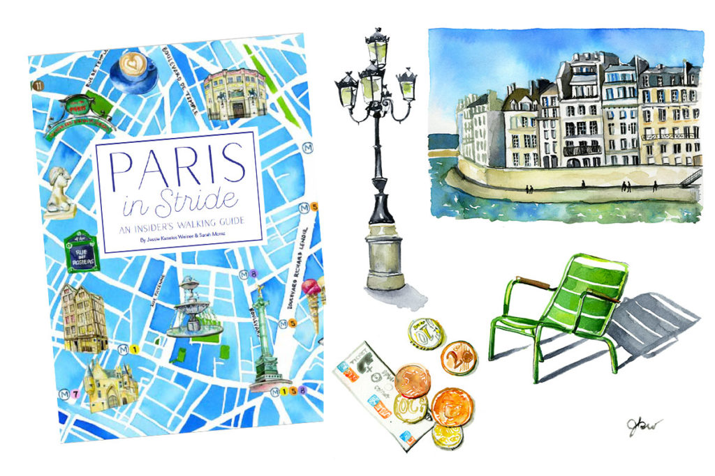 Paris in Stride book by Jessie Kanelos Weiner