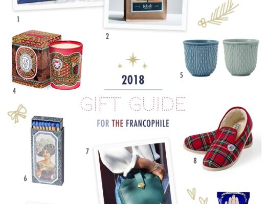 Francophile Gift Guide 2018 Lindsey Tramuta